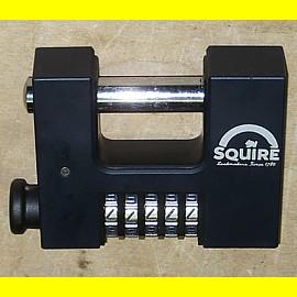 Squire Zahlenschloss CBW85 mit 5 Zahlen - Breite 87 mm / Bügel 12,7 mm