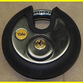 Vorhängeschlösser rund - gleichschliessend - 70 mm - Yale - wasserfest
