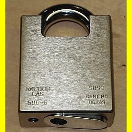 Anchor Las - Hoch Sicherheits Vorhängeschloss für Profil-Halbzylinder nach EURO Norm Klasse 6