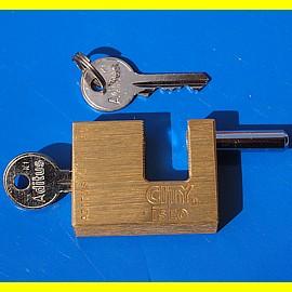 ISEO Monoblock - 50 mm breit - gleichschliessend