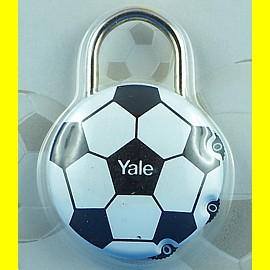 Yale Zahlenschloss 40 mm Fussball 3-stellige Kombination Bügel ca. 3 mm